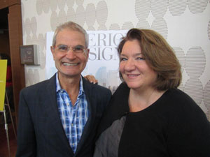 Interior Design Magazine Publisher Mark Strauss Lynnette Tedder